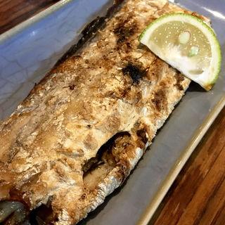 太刀魚の塩焼き(あいちゃん)