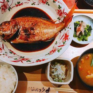 煮魚定食(六本木いなきあ )