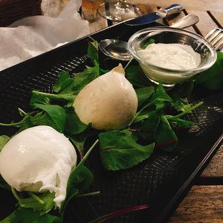 3種のおまかせチーズ盛り合わせ(オービカ モッツァレラバー 東京ミッドタウン店 )