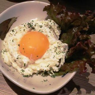 月見ポテトサラダ(やきとりセンター 川崎リバーク店)