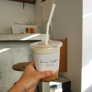 チャイティーラテのアイス(Siro Coffee(シロコーヒー))