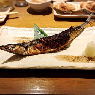 さんまの塩焼(大魚)