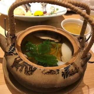松茸の土瓶蒸し(あさひ鮨 本店 (あさひずし))