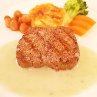 牛フィレステーキ ブルーチーズソース(ラ・パレット (LA PALETTE))