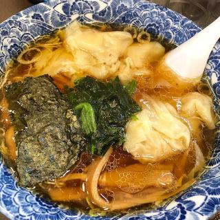 名物 肉厚ワンタン麺(ら麺亭 )