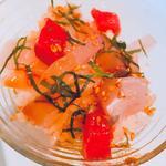ミニ海鮮丼(塩梅)