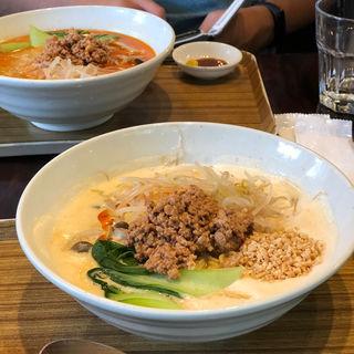 豆乳担々麺(開元カフェ (Kaigen cafe))