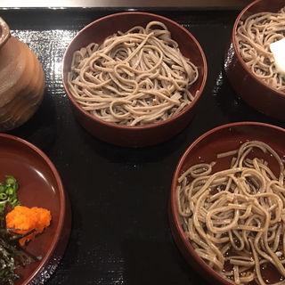 割子そば(3段)