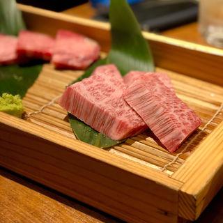 特上ロース(肉のとみい 綱島店)