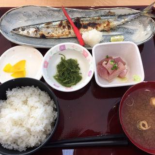 サンマ焼魚定食