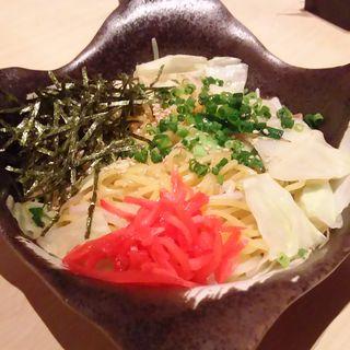 博多豚骨焼きラーメン(個室居酒屋 いごこち 清水)