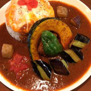 半日分野菜のスパイシーチキンカレー(オカノカリー (OKANO CURRY))