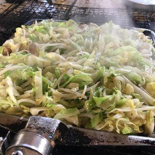 野菜炒め(東千歳バーベキュー)