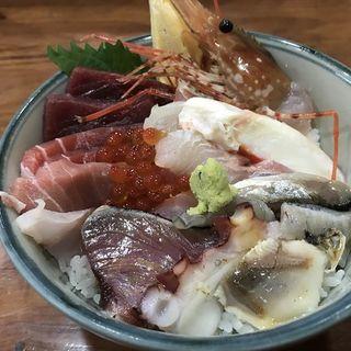 海鮮丼(鮨 しもくら)