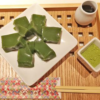 抹茶わらび餅 お茶セット(京はやしや 西武池袋本店 )