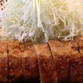 ヒレかつ定食(味のかつえだ)
