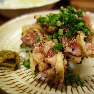 親鶏のタタキ(焼き鳥のあんど)