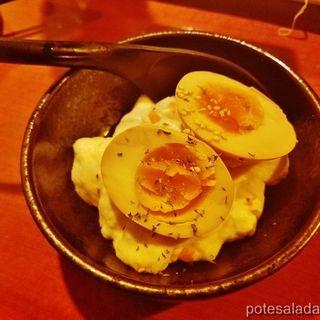 煮卵ポテトサラダ(博多満月 市ヶ谷店 )