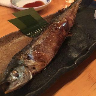秋刀魚の塩焼き(浜屋)