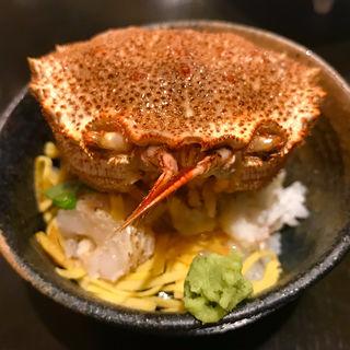 創作海鮮丼(炙り割烹 口福 いど屋)
