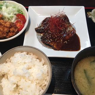 ランチ 鯖のぬか炊き定食(飯屋 だゑん 〜拿縁〜)