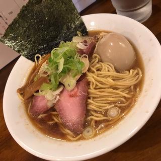 秋刀魚蕎麦(煮干専門中華蕎麦 平八)
