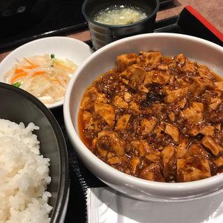 麻婆豆腐定食(5辛)