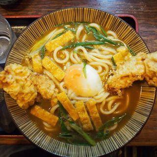 上玉鶏天Wダブルカレーうどん(うどん 蔵十 (くらじゅう))