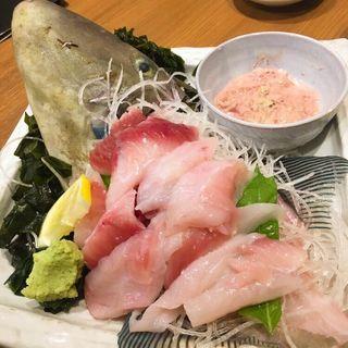 馬面ハギの刺身(魚菜屋 )