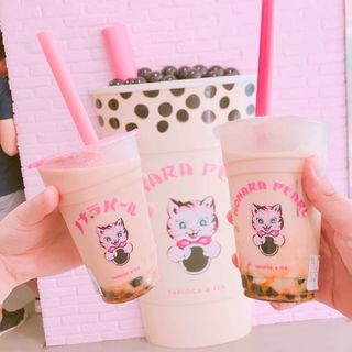焙じ茶ミルクティー(ノナラ ラフォーレ原宿)