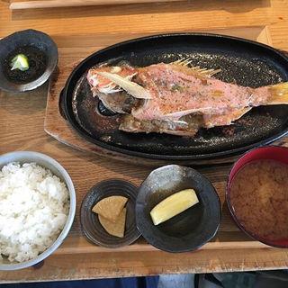 ビタローの豆腐餻バター焼き(糸満漁民食堂 )