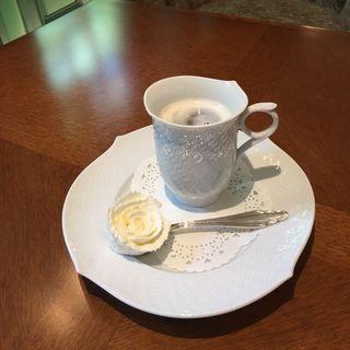 ウインナーコーヒー(長楽館カフェ (チョウラクカンカフェ))