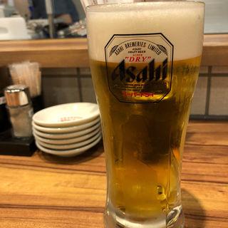 生ビール (スーパードライ)(餃子食堂 マルケン 天満橋店)