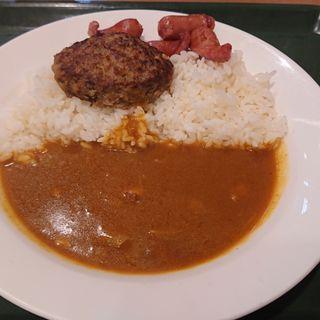 ハンバーグカレー(カレーショップ C&CEchika fit 永田町店 (シーアンドシー))