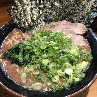 のり青ねぎラーメン(輝道家 (キドウヤ))