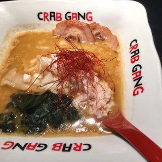 かに味噌ラーメン(CRAB GANG)