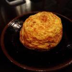 地黄卵 ダッチオーブン 玉子焼