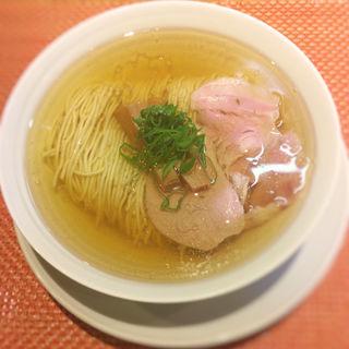 塩煮干しラーメン(柴崎亭 )