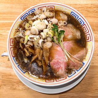 醤油ラーメン(サバ6製麺所摂津富田店)