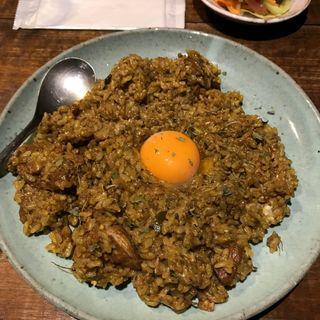 ごちゃ煮チキンカレー(カリー河 )