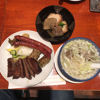真中たん・善治郎定食(たんや善治郎 牛たん通り店)