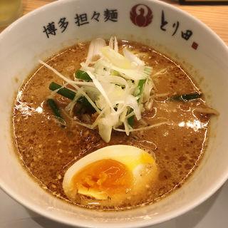 ごま鶏そば(博多担々麺 とり田 KITTE博多店)
