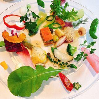 季節の野菜  モネの庭園をイメージして(タテルヨシノ)