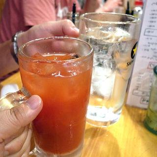 トマト割(やきとん まるば )