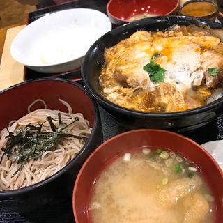 ミニかつ丼セット(伊豆家 )