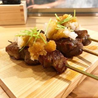 ロースおろしポン酢(炭焼ひばち)