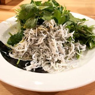 サラダ(炭焼ひばち)
