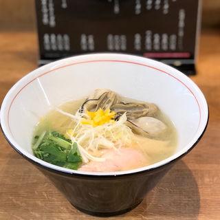 牡蠣&鯛塩ラーメン(麺や 鯛清 (MENYA TAISEI))