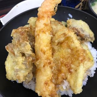 秋天丼セット