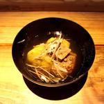 牛ほほと茄子の塩山椒煮